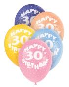 Helium Balloons - Age 30