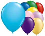 50 Assorted Colour 30cm Latex Balloons