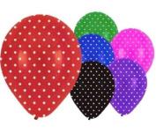 6 Dots 30cm Latex Balloons