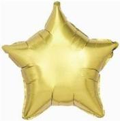 Bobofunnco Gold Star Foil Balloon