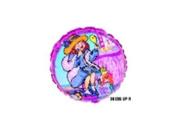 Dress Up Girl 46cm Foil Balloon