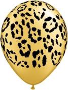 Safari Animal Leopard Print Balloons x 25 - Qualatex 28cm