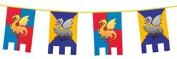 Knights & Dragon Flag Banner