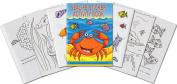 Sealife Mini Sticker Activity Books