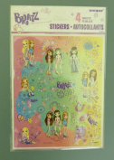 4 Full Sheets of Bratz Stickers - Girls Stocking Fillers And Gifts