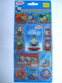 THOMAS & FRIENDS - 3D & Lenticular Stickers - Reusable {Sticker Style}