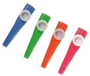 12 Kazoos (4 Assorted Colours)