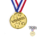 100 KIDS OLYMPIC GOLD WINNERS MEDALS PARTY GAMES BAG PRIZES GIFTS