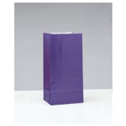 Deep Purple Paper Party Bags