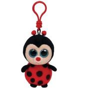 TY Beanie Boos Clip Bugsy The Ladybug