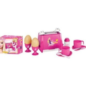 Faro Barbie Toy Breakfast Set with Toaster