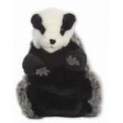 The Puppet Company European Wildlife Hand Puppets Badger Hand Puppet