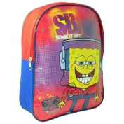 SPONGEBOB SQUAREPANTS KIDS BOYS SCHOOL NURSERY BACKPACK RUCKSACK TRAVEL BAG NEW
