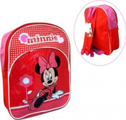 Disney Minnie Mouse Red Heart School Backpack
