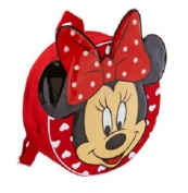 Minnie Mouse - Red 3D Backpack / Rucksack / Nursery School Bag
