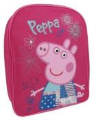 Peppa Pig Patchwork Pink Girls School Bag Backpack Rucksack Travel Bag Shoulder Bag 1181