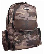 Mens Boys Womens Hi-Tec Camouflage Work School Gym Backpack