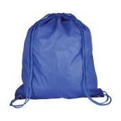 10 x Nylon Drawstring Rucksack Bags - Childrens School Gym / Book / Swim Bag