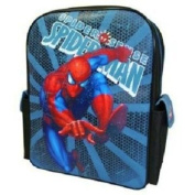 Spiderman - Large Backpack with 2 Side Pockets / Rucksack School Bag