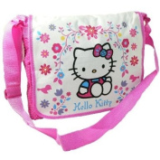 HELLO KITTY FOLKSY DESPATCH COURIER MESSENGER SHOULDER SCHOOL TRAVEL HAND BAG
