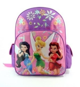 Disney's Fairies BackPack Full Size - Tinkerbell School Bag Large