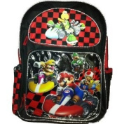 Super Mario Backpack - Full size Mario Kart School Backpack