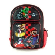 Mariokart BackPack Full - MarioKart School Bag Large
