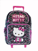 Hello Kitty Small Rolling BackPack - Sanrio Hello Kitty Small Rolling School Bag