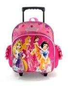 Disney's Princess Rolling BackPack - Princesses Rolling School Bag Small