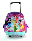 Disney's Fairies Rolling BackPack - Fairies Rolling School Bag Small