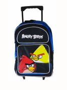 Angry Birds Rolling BackPack - Angry Birds Large Rolling School Bag