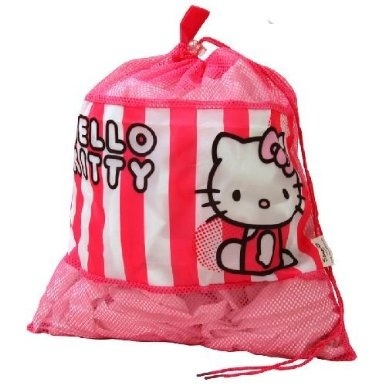 40c25e2a6b1b Kids Disney Girls Hello Kitty Storage Drawstring Tidy School P.E Gym ...