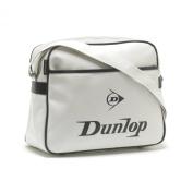 Dunlop Bag School Shoulder Flight Bag - Original White Black Logo