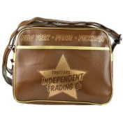 NEW ONLY FOOLS AND HORSES GYM UNI SCHOOL MESSENGER BAG BROWN RETRO GIFTS 409622