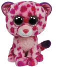 Ty Beanie Boo 15cm Plush - Pink Leopard Glamour