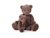 Cuddly Soft Chocolate Brown My First Charlie Bear Small
