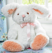 M C G Textiles Huggables Bunny Stuffed Toy Latch Hook Kit, 48cm Tall