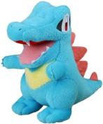Pokemon soft toy plush Totodile 18cm high in uk