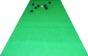 Carpet Bowls & Green Bowls Mat (400 X 100cm) - perfect for restricted indoor area!