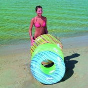 "Adult Swim Ring, 36"" (90cm) with Handles Striped.Bestway"