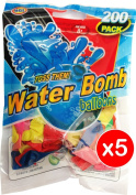 Water Bombs - 1000 multi pack - comes with 5 tap adapters!