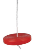 Childrens Rope Garden Monkey Swing with Red Plate Seat Toy