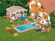 H0 FA SWIMMING POOL AND GARDEN HOUSE
