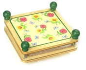 Traditional Wooden Flower Press & Full Instructions Drying Leaves Flowers
