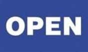 Open Sign Flag 1.5m x 0.9m