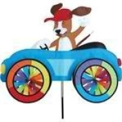 Premier Kites Car Wind Spinners 3D Lawn Art - Dog