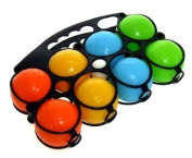 Plastic beach boules set