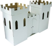 Kideco Cardboard Castle Playhouse Toy