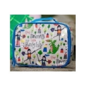 Gisela Graham Knights and Dragons PVC School Lunch Bag