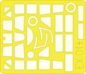 Eduard Masks 1:48 - SM 79II Sparviero (Trumpeter) - EDMEX014